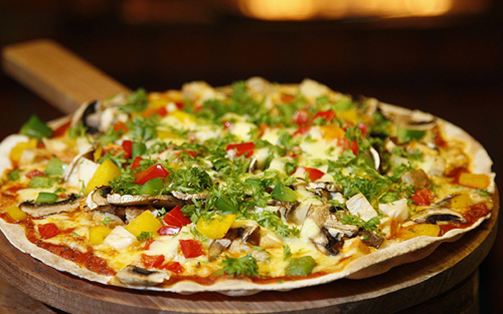Pizza fraîche