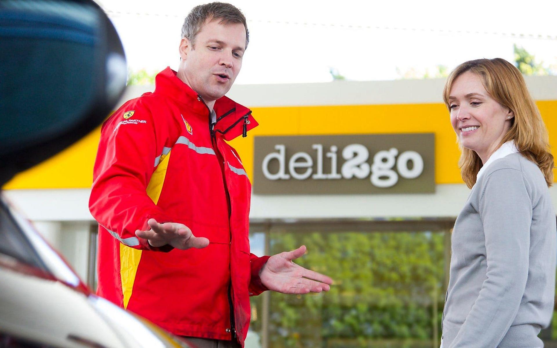 Les professionnels Shell vous accueillent sur votre route
