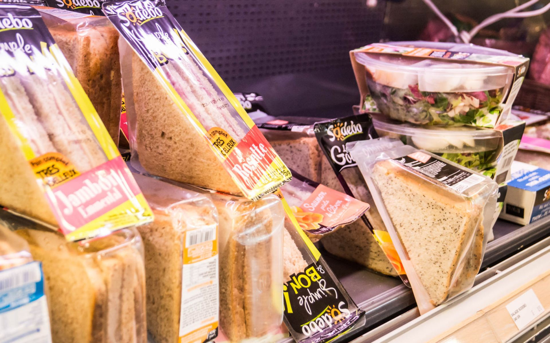 Sandwich triangle