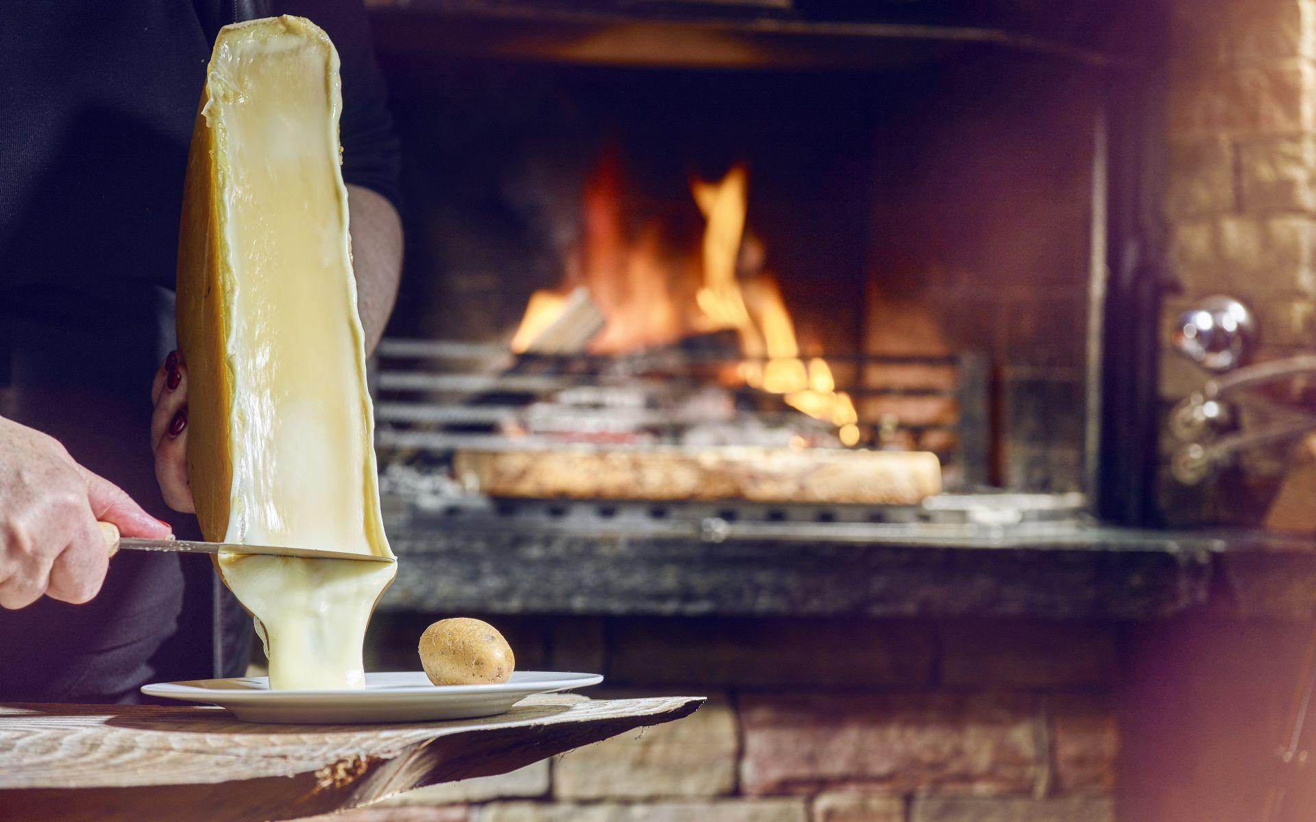 La raclette traditionnelle